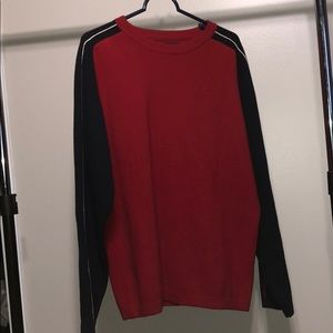 American Eagle Outfitters Vintage Blue Red Sweater